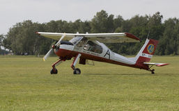 PZL-104 Wilga Fotografering för Bildbyråer