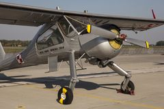 PZL-104 Wilga Arkivfoto