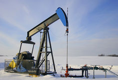 Pétrole d'Alberta photo stock