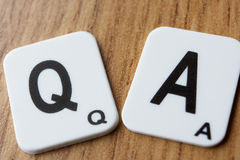 Q & A Royalty Free Stock Photo