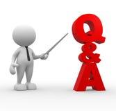 Q&A Royalty Free Stock Photos