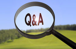 Free Q&A Question And Answer Royalty Free Stock Photo - 80655705