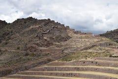 The Q`allaqasa ruins at Pisac Royalty Free Stock Image