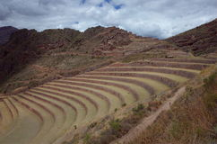 The Q`allaqasa ruins at Pisac Stock Photography