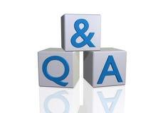 Q&A Fotos de Stock