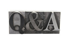 Q&A Images stock
