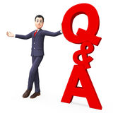 Q And A Means Frequently Asked Questions And Answer Stock Images