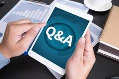 Q&A Stock Image