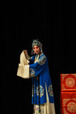 """qīng yī female role- Beijing Opera"""" Women Generals of Yang Family"""" Royalty Free Stock Photography"""