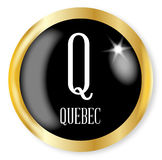 Q For Quebec Stock Photography