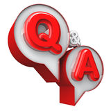 Q&A Royalty Free Stock Photos