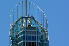 Q1 som bygger Gold Coast Queensland Australien Arkivbild