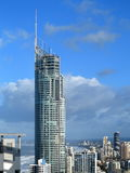 Skyscraper Q1 at Gold Coast skyline Stock Photography