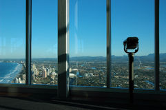 Q1 Observation Deck. Surfers Paradise,Gold Coast,Australia Stock Photography