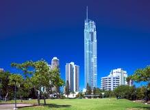 Q1 toren, Gouden Coasst Australië Royalty-vrije Stock Afbeeldingen