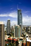 Q1 torre, Gold Coast Fotografía de archivo