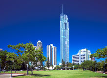 Q1 torre, ouro Coasst Austrália Imagens de Stock Royalty Free