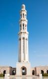 Μεγάλο μουσουλμανικό τέμενος Qaboos σουλτάνων, Muscat Στοκ Εικόνες