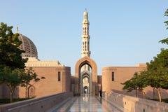 qaboos uroczysty meczetowy muszkatołowy sułtan Zdjęcie Stock
