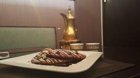 Qahwa-Sitzungen stockfotografie