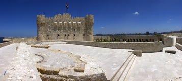 Qaitbay城堡  库存图片
