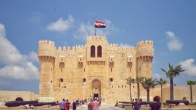 A shot of the Qaitbay Citadel Royalty Free Stock Photography
