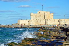 Qaitbay Citadel Royalty Free Stock Photo