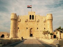 Qaitbey castle Stock Images