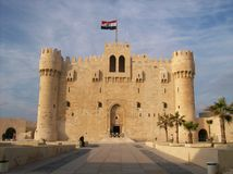Qaitbey citadel Stock Photos