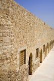 Qaitbey fästning i Egypten Arkivfoton