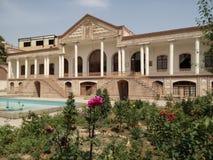 Qajar museum Arkivfoton