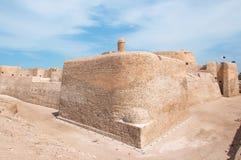 Qal'At Al Bahrain Fort, isla de Bahrein foto de archivo