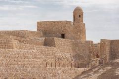 Qal'At Al Bahrain Fort, Island of Bahrain stock images
