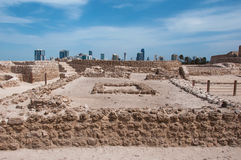 Qal'At Al Bahrain Fort, Island of Bahrain Stock Photography