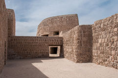Qal'At Al Bahrain Fort, Island of Bahrain Royalty Free Stock Photos