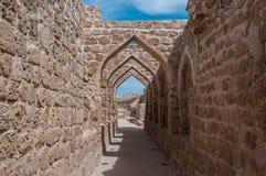 Qal'At Al Bahrain Fort, Island of Bahrain Stock Photos