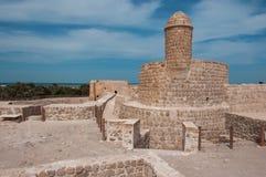 Qal'At Al Bahrajn fort, wyspa Bahrajn obraz stock