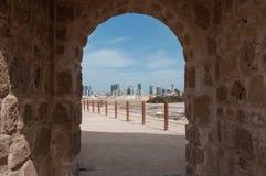 Qal'At Al Bahrajn fort, wyspa Bahrajn obraz royalty free