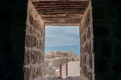 Qal'At Al Bahrajn fort, wyspa Bahrajn obrazy royalty free