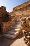 qal arad的堡垒 库存照片