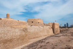Qal At Al Bahrain Fort, Island Of Bahrain Royalty Free Stock Images