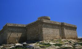 Qala village , old castle , Absheron   , Baku , Azerbaijan Royalty Free Stock Photo