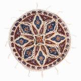 Qalamkar - calicó impreso, artesanía persa. fotos de archivo