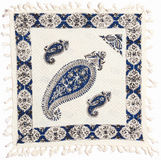 Qalamkar - gedruckter Kaliko, traditionelles Handwerk. Stockbild