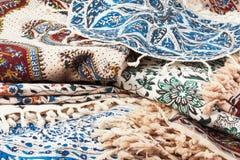 Qalamkar - persian handicraft. Royalty Free Stock Images