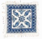 Qalamkar - printed calico, persian handicraft. Royalty Free Stock Images