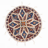 Qalamkar - printed calico, persian handicraft. Stock Photos