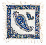 Qalamkar - printed calico, persian handicraft. Royalty Free Stock Photography