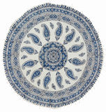 Qalamkar - printed calico, traditional handicraft. Stock Photography