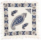 Qalamkar - printed calico, traditional handicraft. Stock Image